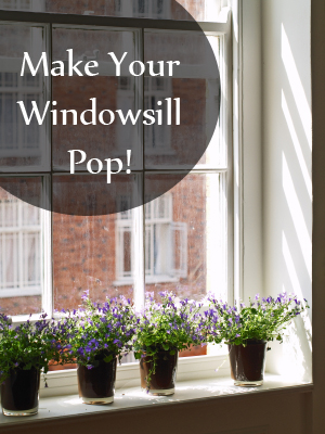 How to decorate your window sills small kitchen design ideas for Kitchen window sill decoration ideas