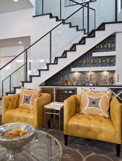 Under Stairs Bar Ideas