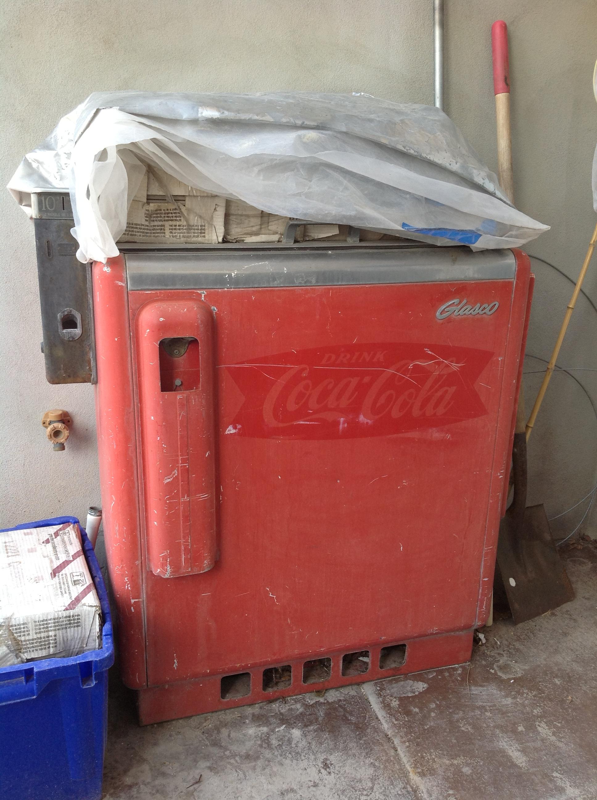 DIY Vintage Coke Machine