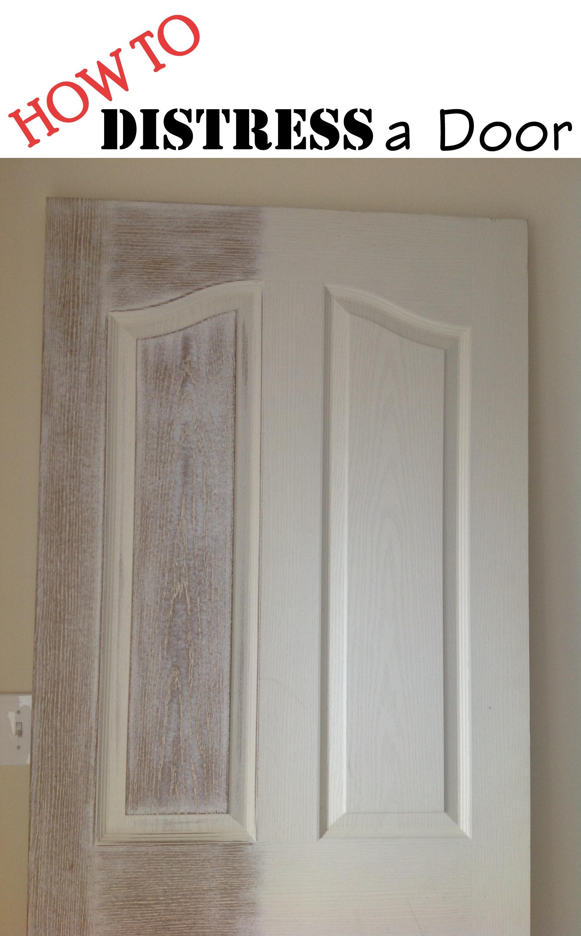 How to Distress a Door
